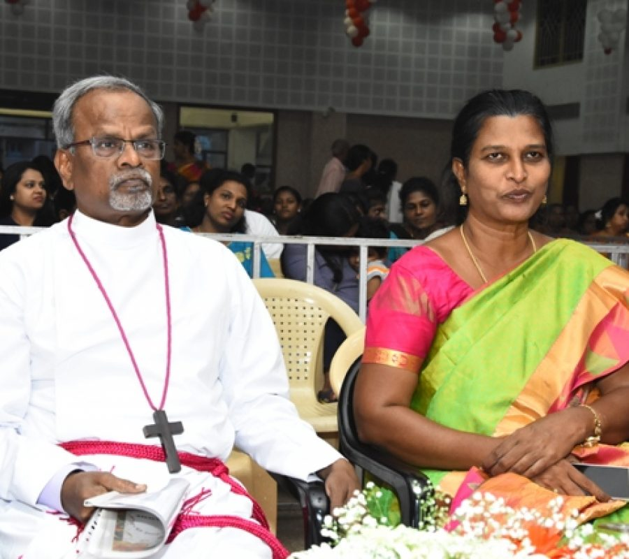 Our Honourable Bishop & Bishop Amma